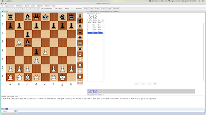 chess engine analysis in lantern interface